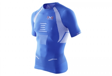 x bionic maillot the trick running bleu