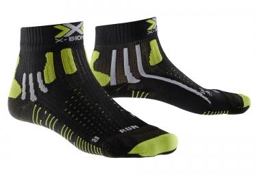 chausssettes running x bionic effektor running noir vert