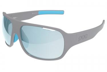 poc lunettes do flow gris bleu