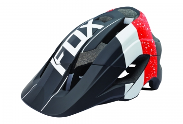 casque fox metah kroma rouge noir