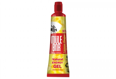 mulebar gel energetique lemon zinger citron 37 g