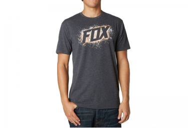 fox side winder t shirt noir