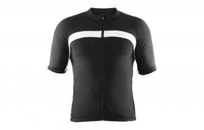 craft maillot velo noir blanc
