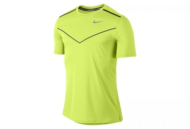 nike maillot dri fit racing jaune homme
