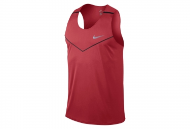 nike debardeur dri fit racing rouge homme