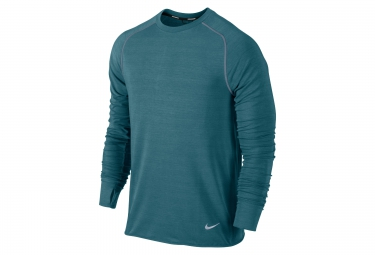 nike maillot dri fit sprint crew vert homme
