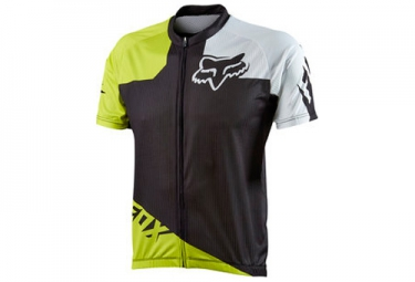 fox maillot manches courtes livewire race acid green