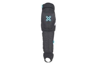 fuse genouilleres avec protege tibia echo 125 noir
