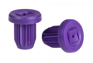 merritt embouts de guidon insert violet