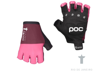 poc gants courts fondo rose