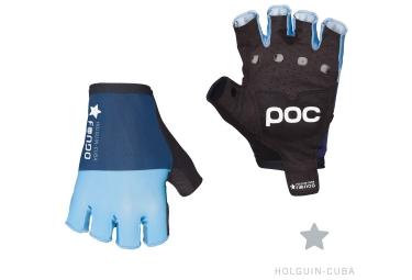 poc gants courts fondo bleu