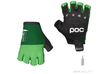 poc gants courts fondo vert