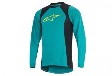 alpinestars maillot manches longues drop 2 vert
