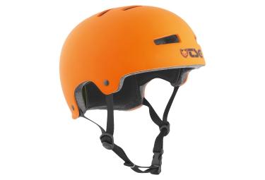 casque bol tsg evolution orange mat
