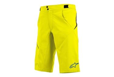 alpinestars short pathfinder jaune
