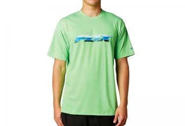 fox tee shirt manches courtes novistad tech tee vert