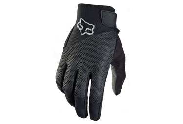 fox paire de gants longs reflex gel noir