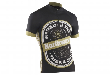 northwave maillot manches courtes beer noir