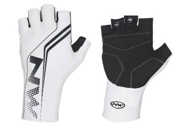 northwave gants courts extreme graphic blanc