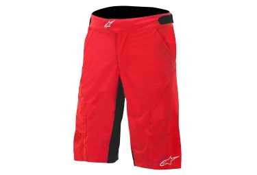 alpinestars short hyperlight 2 rouge