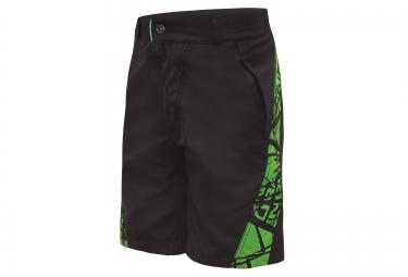 short avec peau enfant endura hummvee noir vert