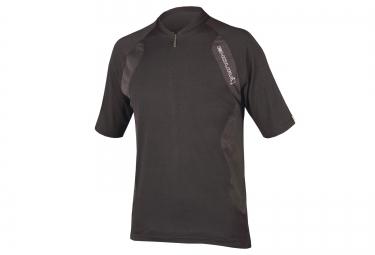 maillot manches courtes endura singletrack lite noir