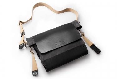 brooks sac bandouliere brixton noir gris