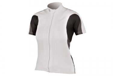 maillot manches courtes femme endura fs260 pro blanc