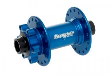 hope moyeu avant pro 4 evo boost 110x15mm 32 trous bleu