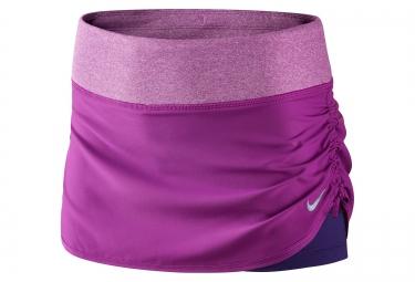 nike jupe 2 en 1 rival violet femme