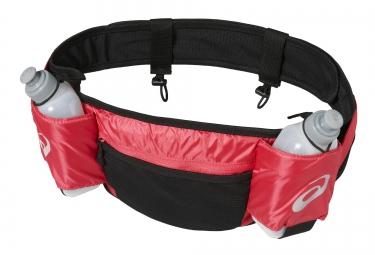 ceinture d hydratation asics runners waistbelt rose