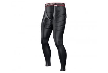 troy lee designs pantalon de protection avec peau de chamois 7705 noir