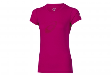 maillot femme asics graphic rose