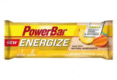powerbar barre energize c2max 55gr mangue tropical