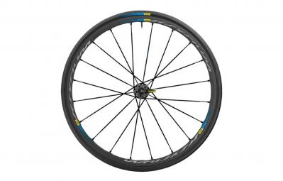 roue arriere mavic ksyrium pro exalith haute route noir bleu pneu yksion pro 25mm
