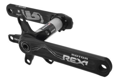 pedalier avec capteur de puissance rotor inpower rex 1 2 noir