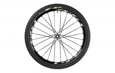 roue avant mavic 2016 crossmax xl pro wts 27 5 noir axe 15x100mm 9x100mm qr pneu cro