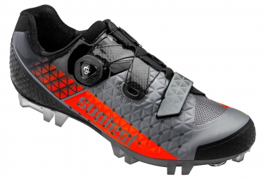 chaussures vtt suplest edge 3 performance gris rouge