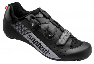 chaussures route suplest edge 3 sport noir gris