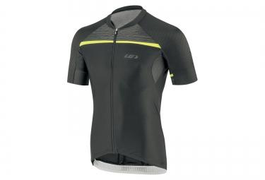 maillot manches courtes louis garneau elite m2 rtr 2016 noir jaune