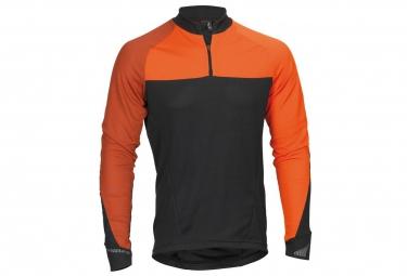 maillot manches longues haibike xduro noir orange