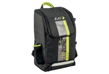 sac a dos triathlon louis garneau trizone 40 noir jaune
