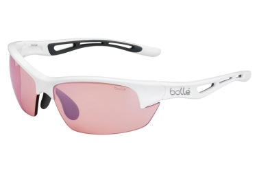 lunettes bolle bolt s blanc rose