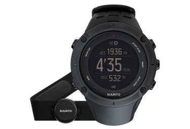 suunto montre gps ambit3 peak hr noir ceinture cardiaque smart sensor