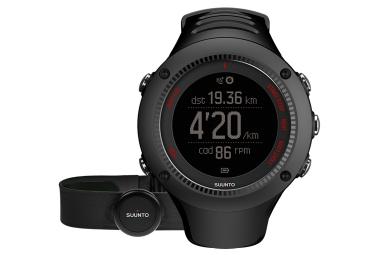 suunto montre gps ambit3 run hr noir ceinture cardiaque smart sensor