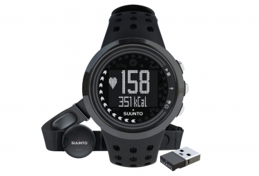 suunto montre m5 noir ceinture cardiaque dual comfort