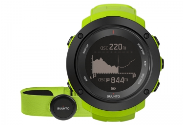 suunto montre gps ambit3 vertical hr lime ceinture cardiaque smart sensor