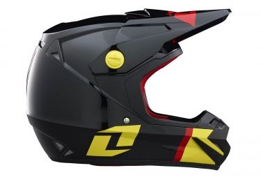 casque integral one industries atom phantom jaune rouge noir