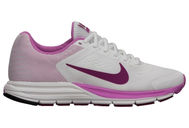 nike air zoom structure 17 blanc rose femme
