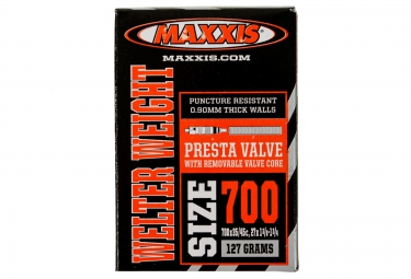 chambre a air maxxis welter weight 700x35 45 presta rvc